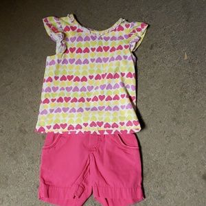 Girls short outfit